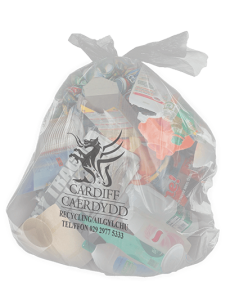 Recycling - Clear bag