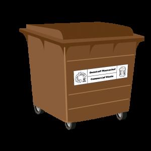 Food Waste 660L Bin
