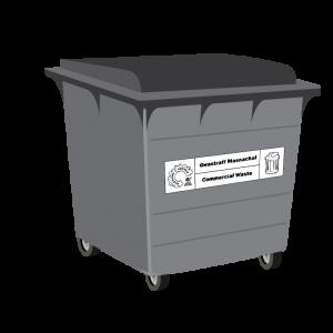 General Waste 660L Bin