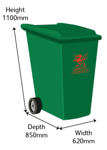 Recycling 360L Bin